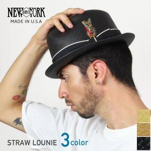 NEW YORK HAT ニューヨークハット Straw L...