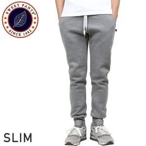 SWEET PANTS スイートパンツ Slim Pants スウェットパンツ DARK GREY