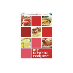 My Favorite Recipes DVD