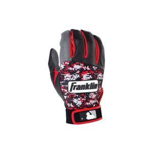 Franklin フランクリン バッティンググローブ DIGITEK 赤 黒 グレー Sサイズ Mサイズ Lサイズ XLサイズ 野球 手袋 部活 スポーツ 運動 ベースボール baseball