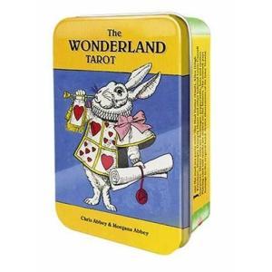 タロットカード ワンダーランド 缶入り The WONDERLAND TAROT 不思議の国のアリス...