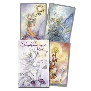 淡く優しく描かれた水彩画のイラストが美しいタロットカードです。 人魚や妖精、様々な動物たちが登場し、...