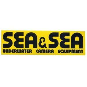 SEA&SEA シーアンドシー SEA&SEAステッカー 大 mic21