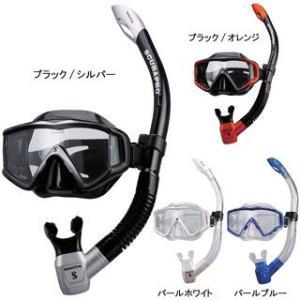 SCUBAPRO(スキューバプロ) クリスタルビュー2マスク / スペクトラスノーケル軽器材2点セット|mic21