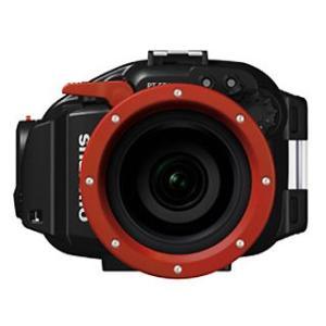OLYMPUS(オリンパス) 新世代マイクロ一眼カメラ PEN Lite E-PL2専用防水プロテクター PT-EP03 mic21
