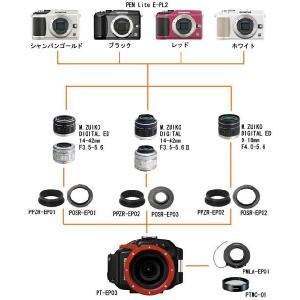 OLYMPUS(オリンパス) 新世代マイクロ一眼カメラ PEN Lite E-PL2専用防水プロテクター PT-EP03 mic21 03