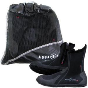 AQUALUNG(アクアラング)  ERGO Boots エルゴ ブーツ (ブラック) [10P17Sep15]|mic21