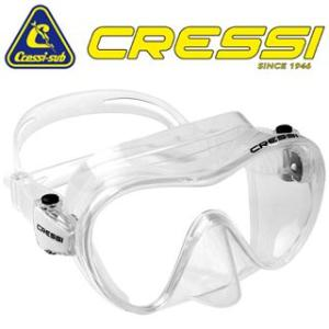 Cressi sub(クレッシーサブ) F1 FRAMELESS Mask (エフワン フレームレス...