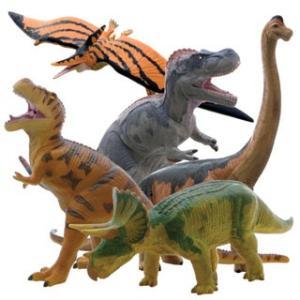 【フェバリット】DINOSAUR ビニールモデル人気恐竜5体セット(FD302-303-306-307-313) mic21