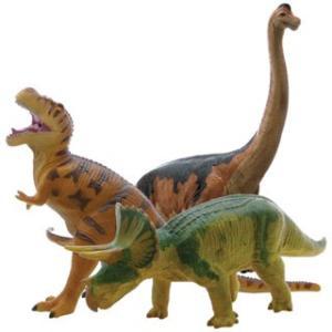 【フェバリット】DINOSAUR ビニールモデル人気恐竜3体セット(FD302-303-306) mic21