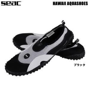 [ SEAC ] HAWAII AQUASHOSE マリンシューズ ブラック アクアシューズ 23c...