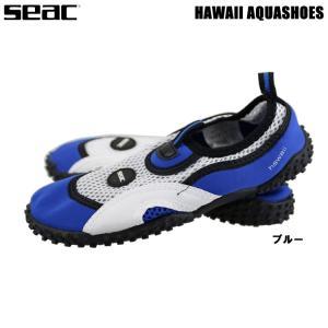 [ SEAC ] HAWAII AQUASHOSE マリンシューズ ブルー アクアシューズ 18cm...