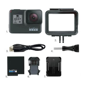GoPro ゴープロ HERO7 Black  ダイブハウジングセット 4Kムービー ウェアラブルカメラ CHDHX-701-FW 国内正規品 mic21 06
