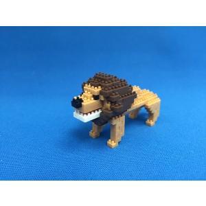 世界最小級の組み立てブロックミクブロ2 ライオン|micblo2