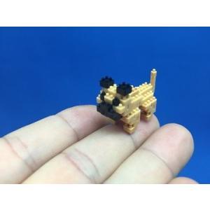 世界最小級の組み立てブロックミクブロ2 パグ -犬シリーズ- micblo2
