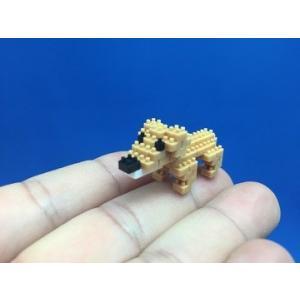 世界最小級の組み立てブロックミクブロ2 ミニチュアダックスフンド -犬シリーズ- micblo2