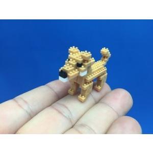 世界最小級の組み立てブロックミクブロ2 柴犬 -犬シリーズ- micblo2