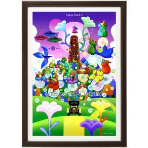 ファンタジーアート(New Breed・新生)額:CFシリーズP20号(72.7×53.0cm) マット付き・ジクレー版画|micbox-art-shop