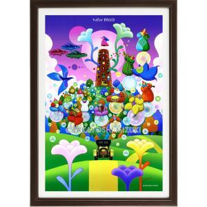 ファンタジーアート(New Breed・新生)額:CFシリーズP30号(91.0×65.2cm) マット付き・ジクレー版画|micbox-art-shop
