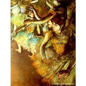 ドガ 「バレエ舞台の一隅」 原画同縮尺近似(15号) (プリハード・デジタグラ)|micbox-art-shop