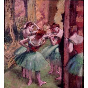 ドガ 「踊り子、ピンクとグリーン」 原画同縮尺近似(8号)(プリハード・デジタグラ)|micbox-art-shop
