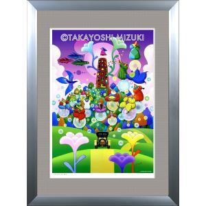 ファンタジーアート(New Breed・新生)額:DLシリーズP30号(91.0×65.2cm) マット付き・ジクレー版画|micbox-art-shop