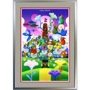 ◆NewBreed (新生)・A3判 (29.7×42.1cm)・フレーム入り・MC画材用紙・アートポスター・ジクレー版画|micbox-art-shop