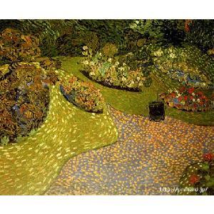 ゴッホ 「オーヴェールの庭」 原画同縮尺近似(8号)(プリハード・デジタグラ)|micbox-art-shop
