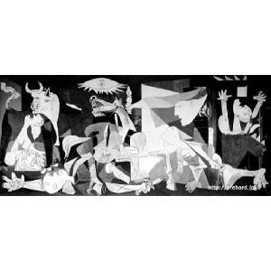 ピカソ 「ゲルニカ」 原画同縮尺近似(8号)|micbox-art-shop
