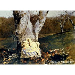 ワイエス 「霜で覆われたリンゴの木」 原画同縮尺近似(8号)(プリハード・デジタグラ)|micbox-art-shop