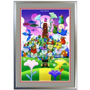 ◆New Breed (新生)・B2判 (51.5×72.8cm)・フレーム入り・MC画材用紙・アートポスター・ジクレー版画|micbox-art-shop