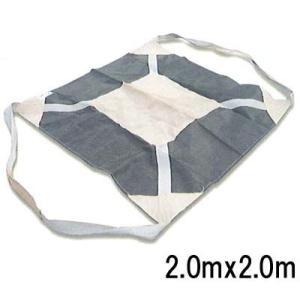小泉製麻 土のう袋 バロンモッコ (2.0mx2.0m) CB仕様  1枚|michi-net