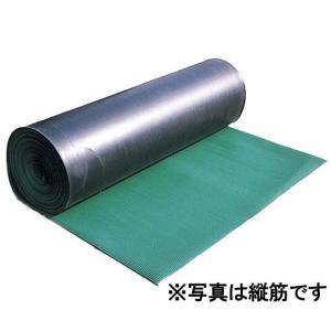 アラオ 筋入りゴムマット(B山マット) タテ筋タイプ 3tx1mx10m 1巻 |michi-net