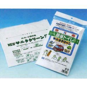 日本ドライケミカル  簡易トイレ「簡単トイレ」 (6114) 1枚入り/10枚セット michi-net
