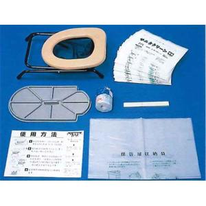 日本ドライケミカル  簡易トイレ「サニタリーン・和式便器用」 (6086) 1セット michi-net