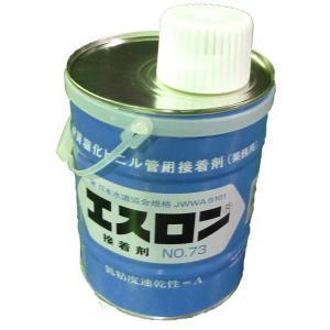 塩ビ管用接着剤 エスロン接着剤No.73 1kg (ハケ付) 1缶|michi-net