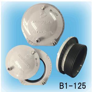 差込式分水栓 塩ビ管・ヒューム管φ125用 B1-125  1ヶ|michi-net