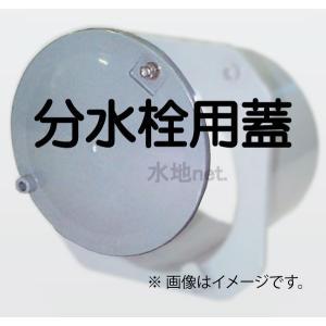 分水栓A-100用・B1-150用フタのみ(ナット付) 外径140mm 1枚 michi-net