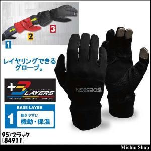防寒手袋 藤和 マイクロフリースグローブ 84911|michioshop