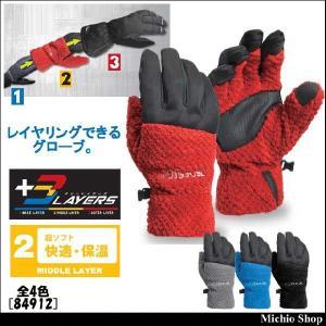 防寒手袋 藤和 マイクロファーグローブ 84912|michioshop
