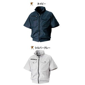 空調服 シンメン エスエアー S-AIR フ―ドインハーフジャケット(ファンなし) 05811|michioshopsp|02