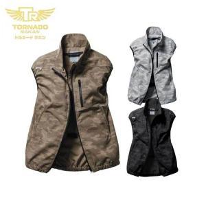 [6月入荷先行予約]空調服 TORNADO RAKAN トルネードラカン ベスト(ファンなし) TR3191|michioshopsp