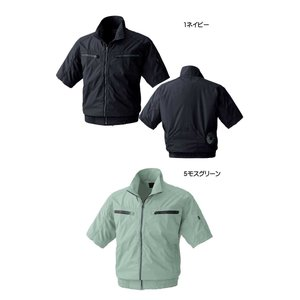 [在庫限り]空調服 鳳凰 快適ウェア 村上被服 半袖立ち襟ブルゾン(ファンなし) V8306|michioshopsp|04