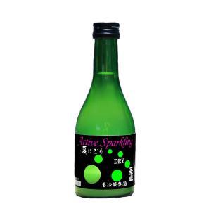 三千盛 アクティブスパークリング 純米大吟醸生酒 300ml 【要冷蔵】|michisakari