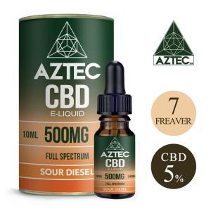 CBD リキッド CBD 5% 500mg フルスペクトラム Aztec アステカ  高濃度 高純度...