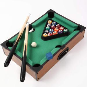 ビリヤードゲーム ミニチュアテーブルゲーム 親子で遊ぶ 卓上で遊べる パーティーゲーム プレゼント 組み立て不要|micomema