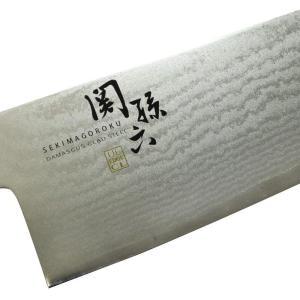 貝印 関孫六 ダマスカス 三徳包丁 165mm AE-5200