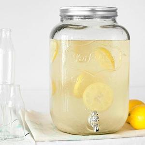 YORKSHIRE MASON JAR DRINK DISPENSER クリア / 8L micomema