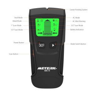 Meterk 下地センサー 下地探し デジタル探知機 高感度センサー スタッド 金属 AC電源 木材...
