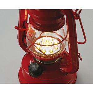 丸和貿易 ランタン ウォームウール LEDフェーリアランタン レッド 400691902 micomema
